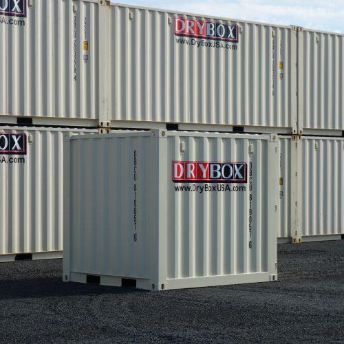 8 ft new 1 trip storage containe