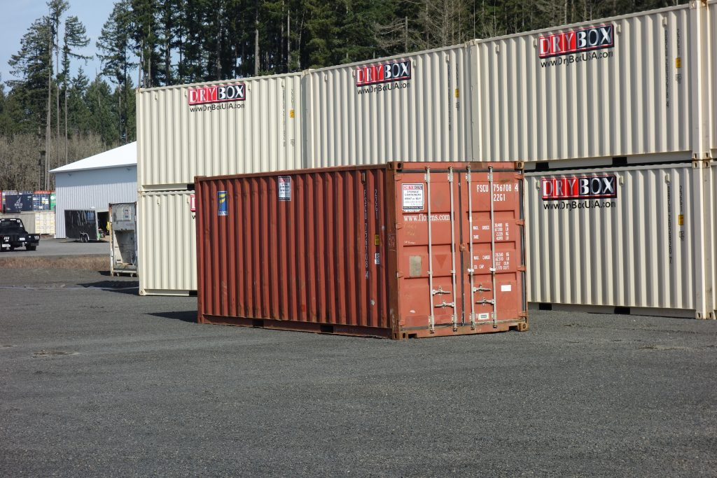 20ft Used Shipping Container (CW-Cargo Worthy Condition ...