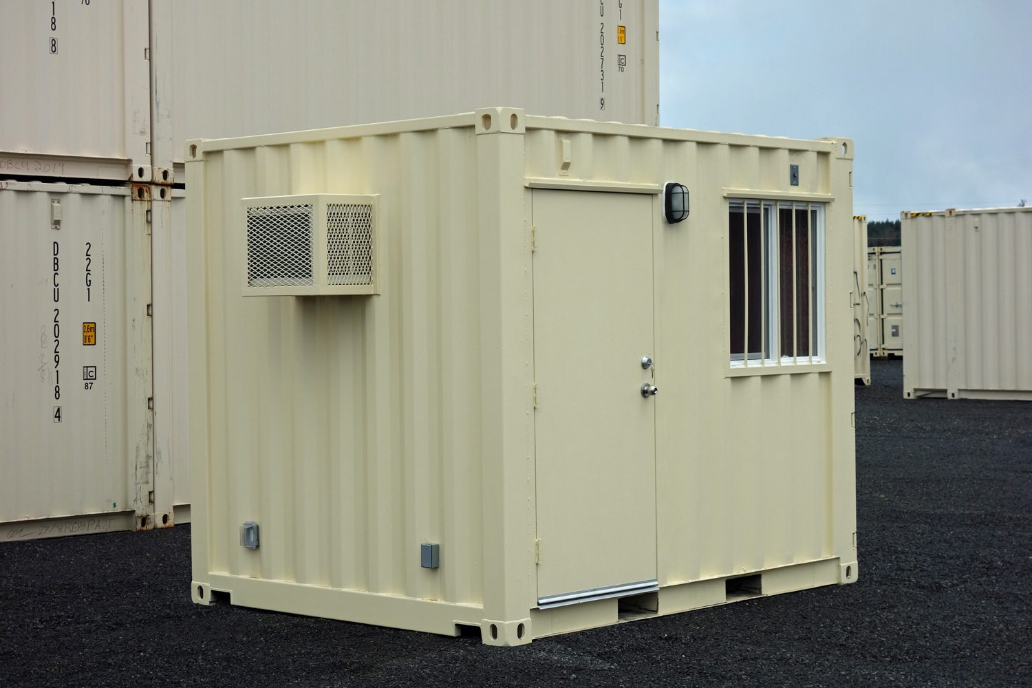 10 ft container office drybox