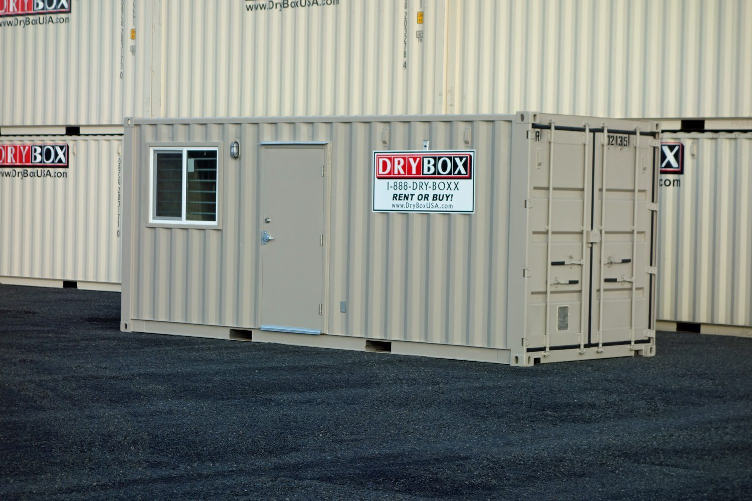 20 ft ground level office drybox