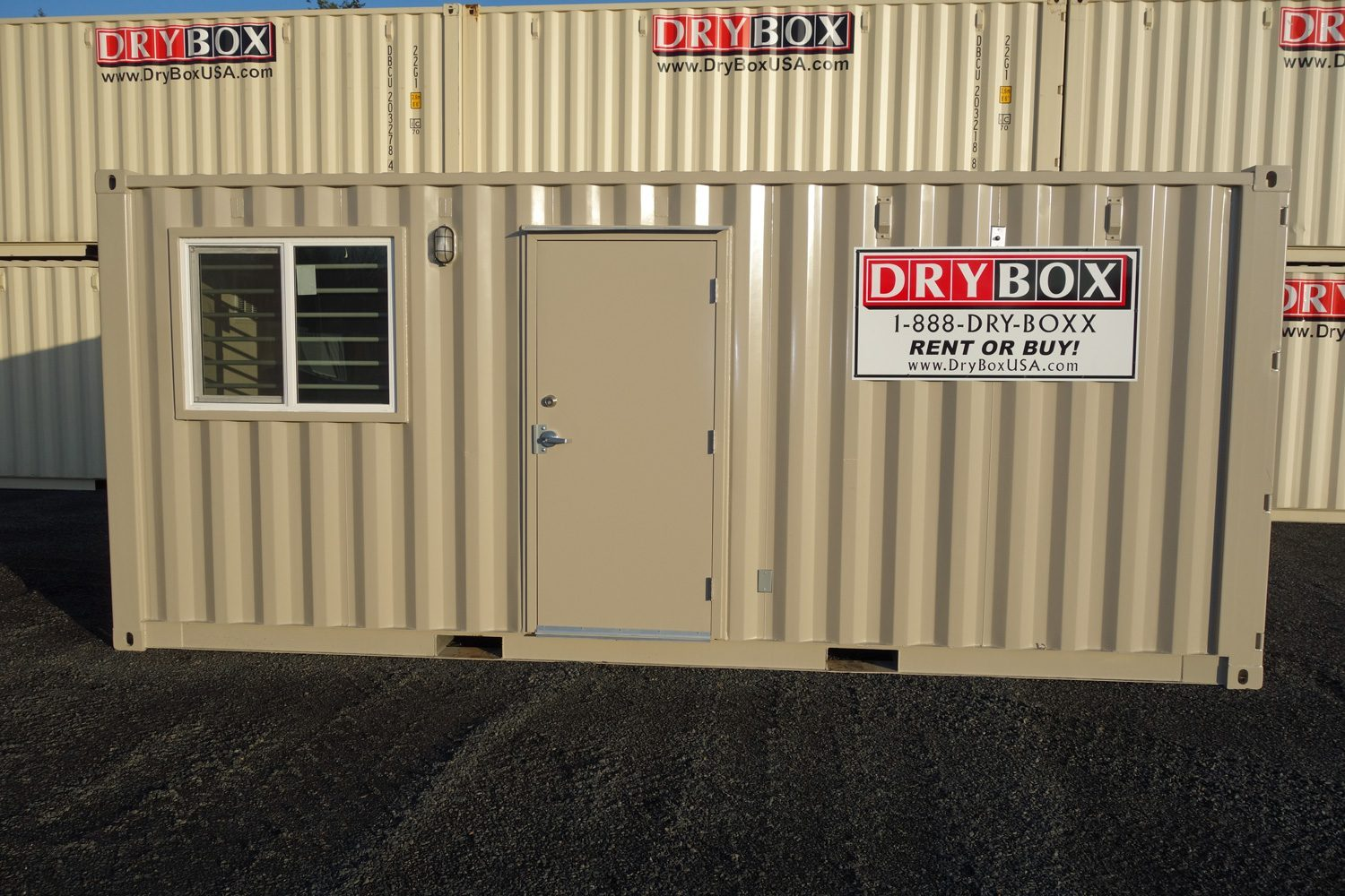20 ft office container drybox