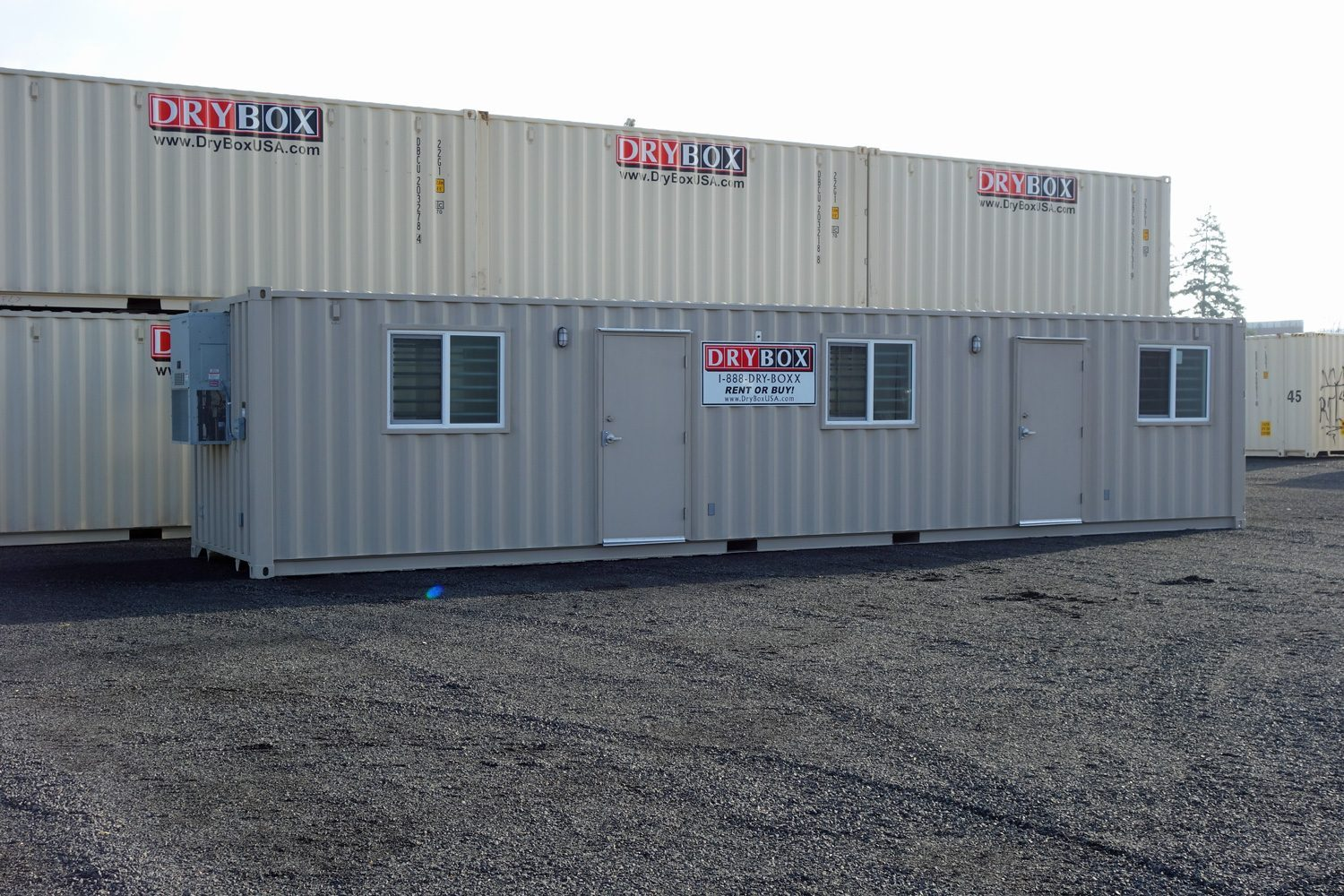 40 ft container office drybox