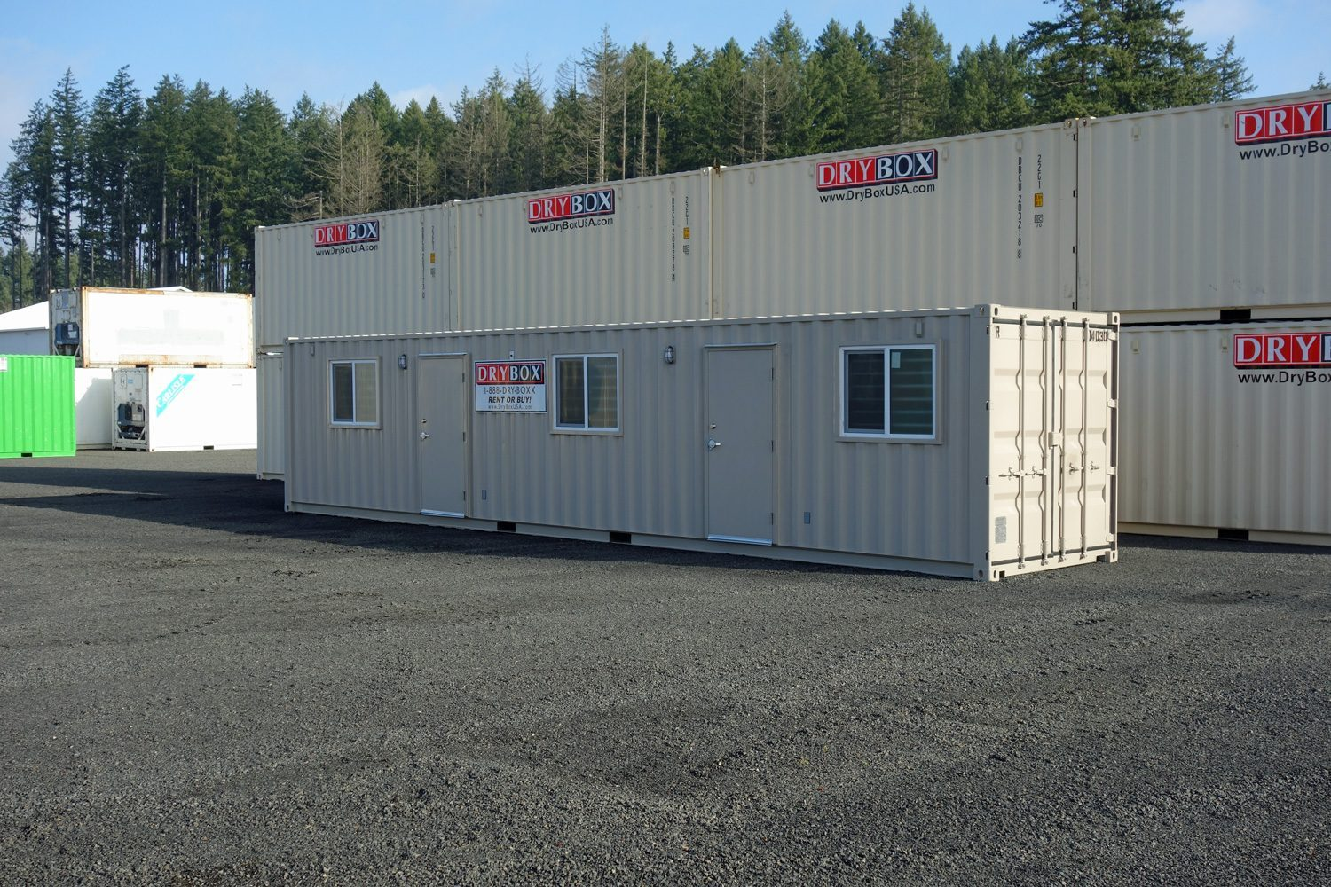 40 ft ground level office drybox