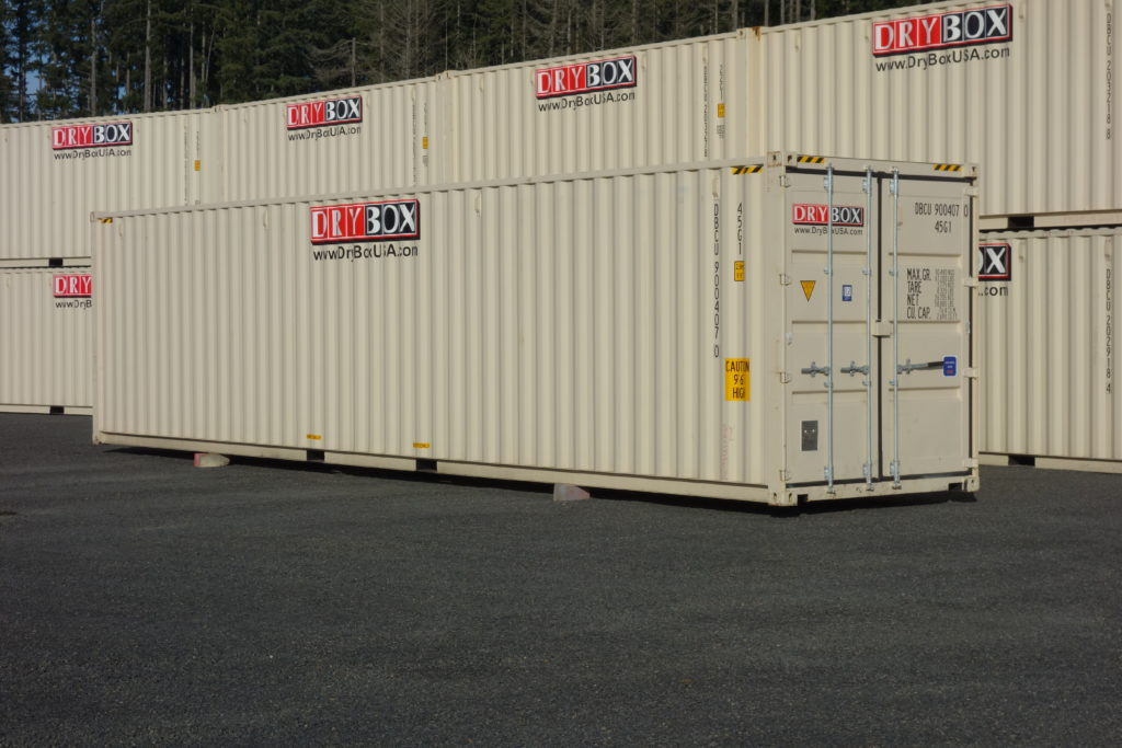 40ft High Cube shipping Container New 1-Trip - Dry Box