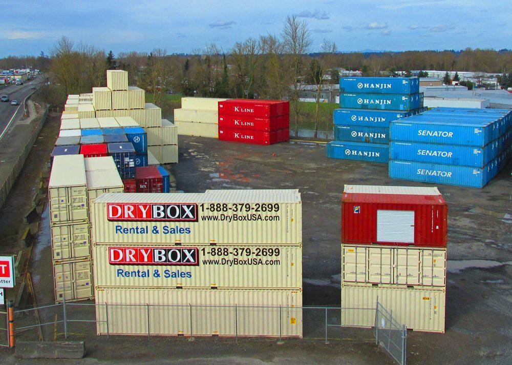 portland oregon storage containers drybox
