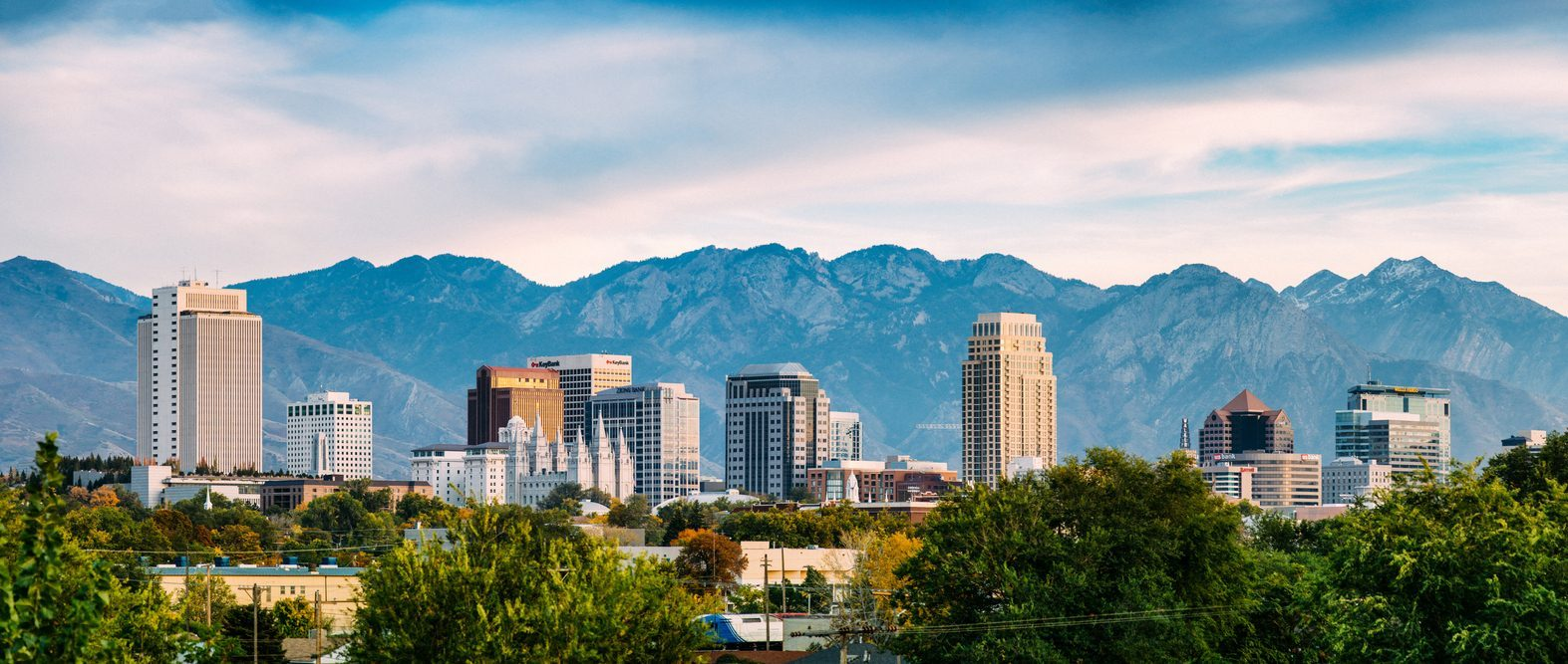 salt lake city utah skyline