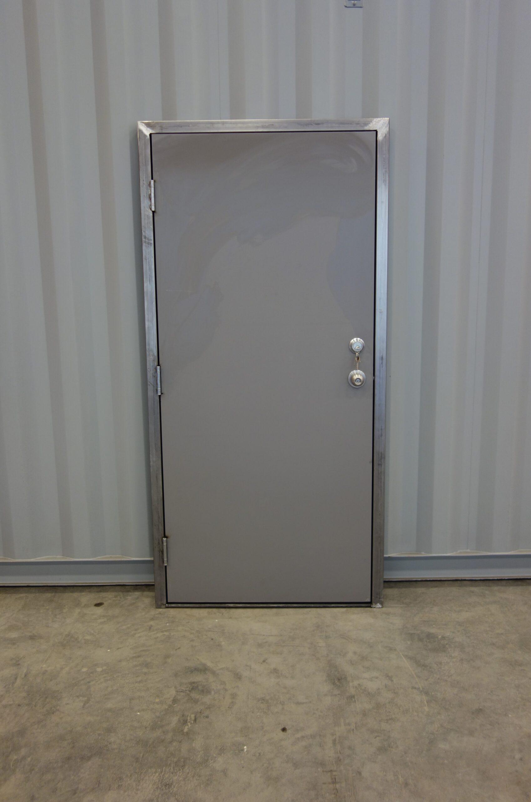 man-door