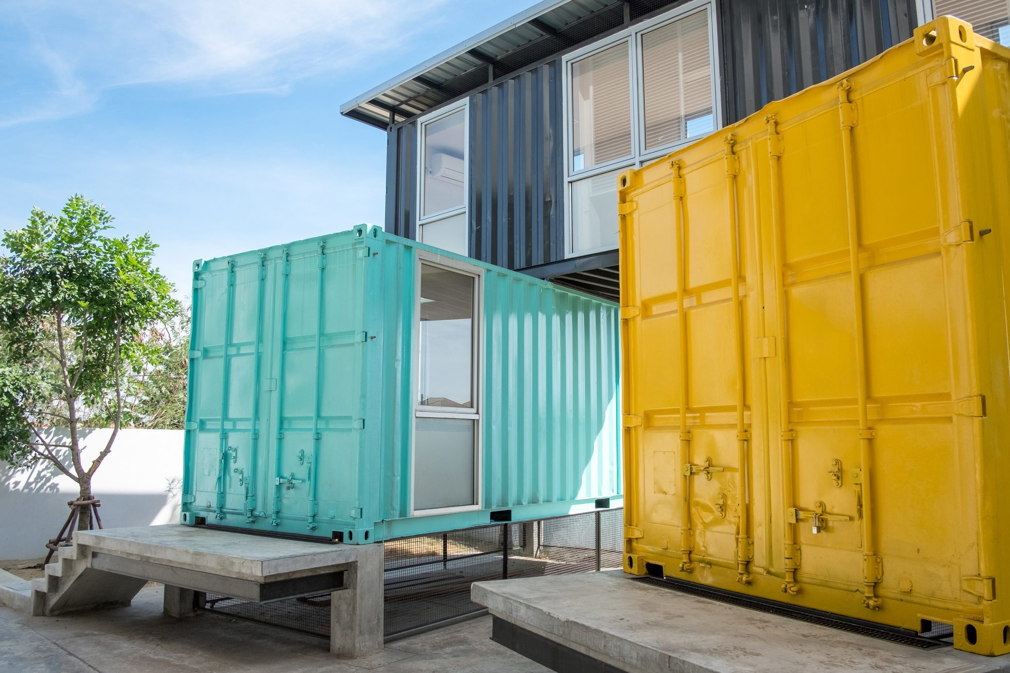 Common shipping container sizes